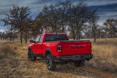 2019 Dodge Ram_Rebel_rear_left