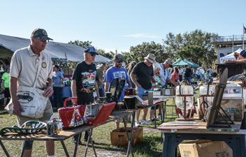 Experience the Frenzy of the Automotive Flea Market